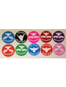 No Enemy Sticker Variety 10 Pack